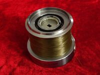 DIAWA CROSSCAST X 5500 SPARE SPOOL + 15 MTRS SHORT OF A FULL SPOOL OF NEARLY NEW KORDA SUBLINE 15LB