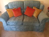 Comfortable two-seat sofa