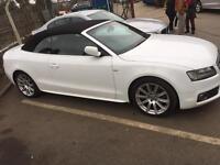 Audi A5 cabriolet 3.0TDI s line