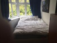 Lovely Double room 5 mins town centre Asda University shops parking busses Opp beach Lansdowne quiet
