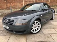 2003 AUDI TT / REMOTE LOCKING / ELECTRIC WINDOWSC/ CD / ALLOYS / FULL MOT .