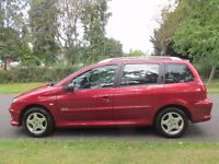 2006 Peugeot 206 Estate (1.4) manual 5Doors With Long MOT PX Welcome