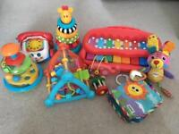 Baby toys mixture