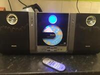 CD, radio player