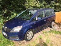 Vauxhall Zafira life 1.6 - petrol - 7 seater