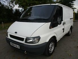 2006 06 FORD TRANSIT 2.0 280 SWB LOW 92K ONE OWNER 2 KEYS CLARION CD MOT 10/2017 DRIVES A1 PX SWAPS