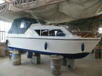 Boat 20' Cabin Cruiser like new fitted with 4 stroke outboard for sale  Martham, Norfolk