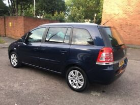 Vauxhall Zafira 2012 1.6 one owner from new only 43.000 miles