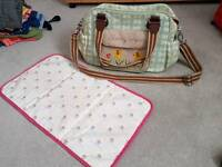 Blooming gorgeous/ yummy mummy changing bag