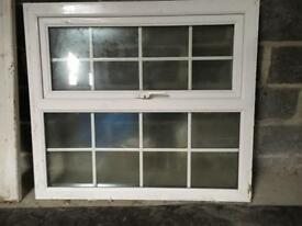 uPVC window and sill