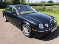 2006 Facelift Jaguar S-Type SE 2.7 TD V6 AUTO Sat Nav FSH 1yrs Mot 6mth warranty