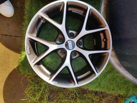 "17"" BBS SR Alloys x4 (3 tyres)"