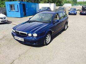 2004 JAGUAR X-TYPE 2.0L DIESEL DRIVING IN EXCELLENT CONDITION///A LOT OF CAR FOR THE VALUE