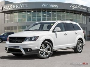 2017 Dodge Journey Crossroad: w/ Entertainment Package!