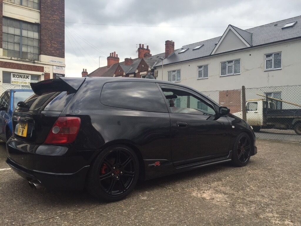honda civic type r ep3 black nighthawk edition mint plus many extras in leicester. Black Bedroom Furniture Sets. Home Design Ideas