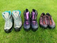 Quality walking boots and shoes for sale.