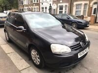 56 REG VOLKSWAGEN GOLF MK5 1.9 TDI A/C ALLOYS BLACK DRIVES SUPERB NOT ASTRA FOCUS CORSA POLO FIESTA