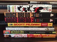 Graphic Novel Collection Scott Pilgrim Y The Last Man MORE