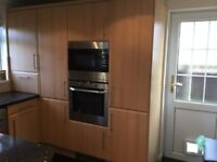 Kitchen units and appliances-sold together or individually. Open to offers