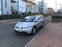 Honda Civic 5 Door Hatchback 2009 Reverse Parking Sensors , Fresh 1 Year Mot Low Mileage