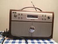 Bush retro DAB/DIGITAL radio