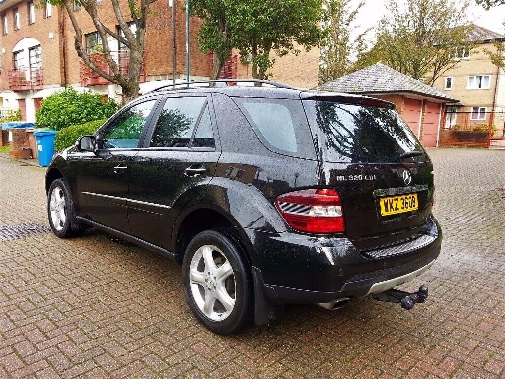 MERCEDES M CLASS ML320 CDI AUTOMATIC 2007 7-G TIPTRONIC FULL SERVICE HISTORY