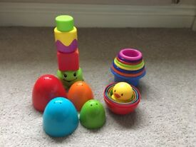 Baby stacking toys