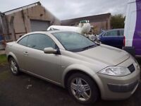*BARGAIN* TRADE IN TO CLEAR (2005) RENAULT MEGANE PRIVILEGE 1.6 CONVERTIBLE - Pan Roof/Full Leather