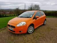 Fiat Punto 1.4 Sporting in Electric Orange
