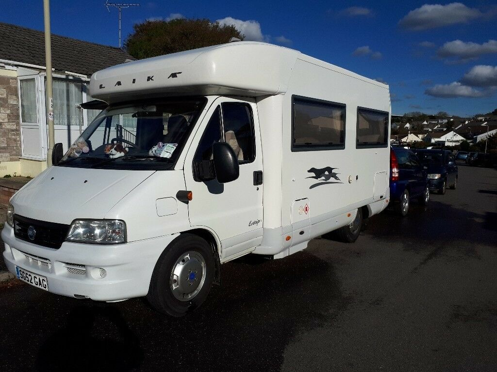 LAIKA ECOVIP 7.1 FIAT DUCATO 2.8 TURBO DIESEL 5 SPEED MANUAL 4 BERTH FIXED  BED