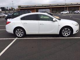Vauxhall Insignia,2012,White,Sat Nav,12Mth MOT,£30 TAX a year!