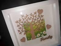 Family Tree Shadow Box Frames