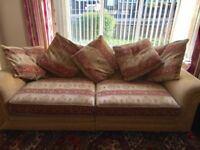 Quick sale :3 Seater Sofa with stool