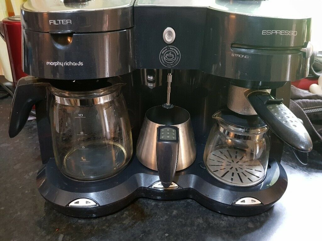 Morphy Richards Coffee Machine With Espresso And Milk Frother Used In Bradford West Yorkshire Gumtree