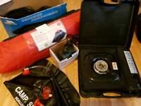 Camping Equipment Tent Stove Bed Shower