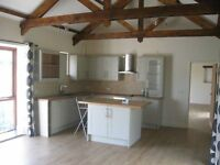 3 BED SEMI DETACHED BARN TO LET NEAR STOKE CLIMSLAND £800 PCM INCLUDING WATER BILL