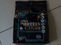Extra protein & carbs meal replacement drink mix 5kg