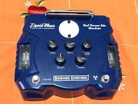 Damage Control Liquid Blues Dual Tube Overdrive Pedal