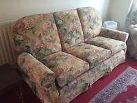 Multiyork three piece suite, 3 seater sofa and 2 arm chairs