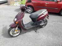 Yamaha neos 50cc moped
