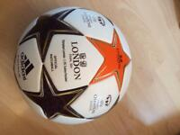 Women's Champions League final ball