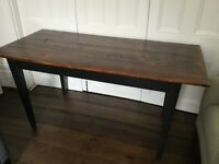 Dining Room Table/Chairs/Hairpin Leg console table