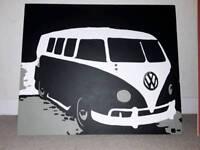 VW Campervan Canvas