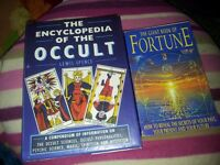 The Encyclopedia of the OCCULT & The Giant Book Of Fortune.