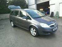 09 Vauxhall Zafira 7 seater Moted July 2017 Full service history ( can be viewed inside anytime)