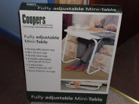 Adjustable Mini Table- brand new
