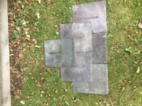 Roof Tiles - Welsh Slate 12inch x 10inch 0.50p ONO each x 1000
