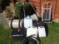 job lot of camping/caravan water carriers