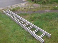 Clima 16 foot Aluminium D-rung Extension Ladder