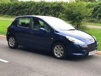 Peugeot 307 S Full Service History Long MOT Just Been Serviced !!!